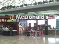 A McDonald's store in India