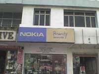 A Nokia Priority Dealer Store in Hyderabad India