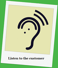 Customer Listening in action